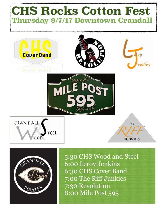 chs bands