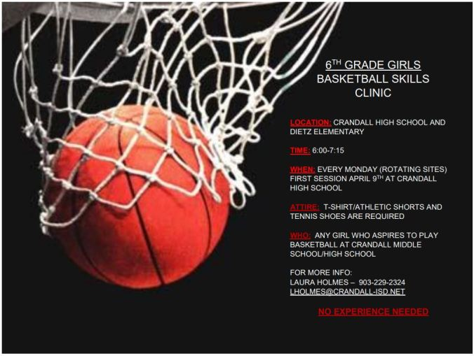 6th girls clinic